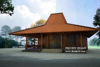 Jasa Desain Pendopo Rumah Joglo Adat Jawa