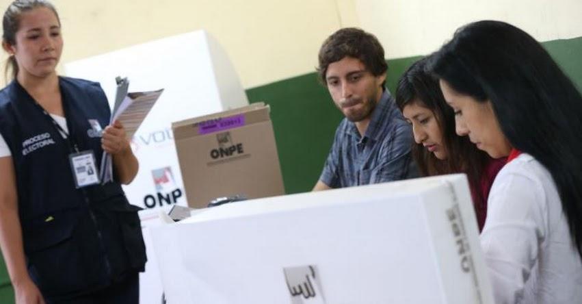 Dos años de prisión para quienes difundan su voto por redes sociales, advierte el Jurado Nacional de Elecciones