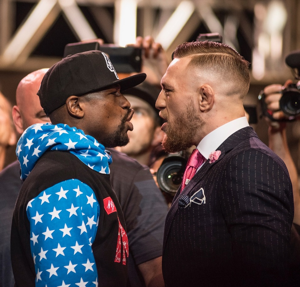 FLOYD MAYWEATHER VS. CONOR MCGREGOR 11