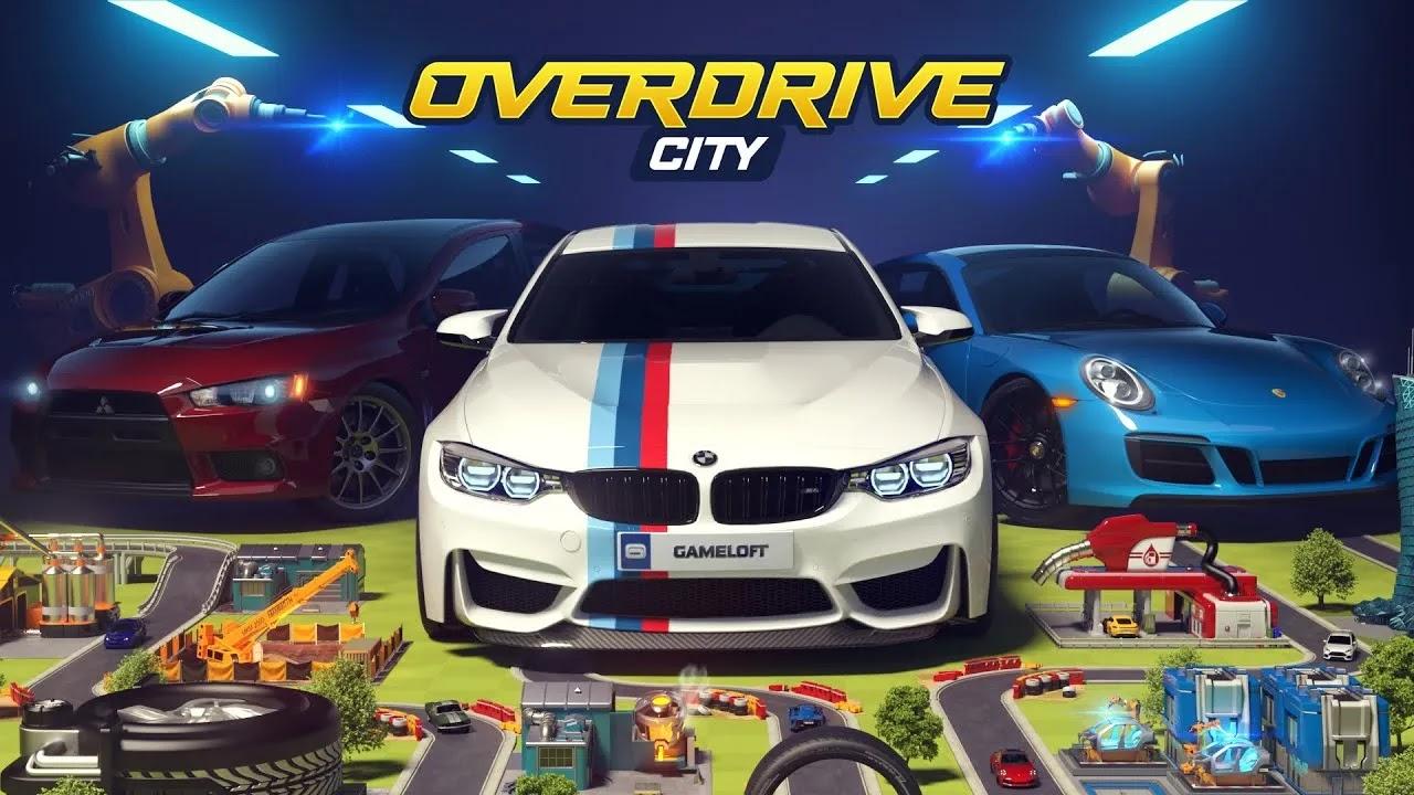 Overdrive City ابنِ مدينة أحلامك في مدينة أوفردرايف! تصنيع أساطيل المركبات ، وجمع مجموعة متنوعة من السيارات الشهيرة ، والتنافس في وضع السباق الوظيفي الصعب.