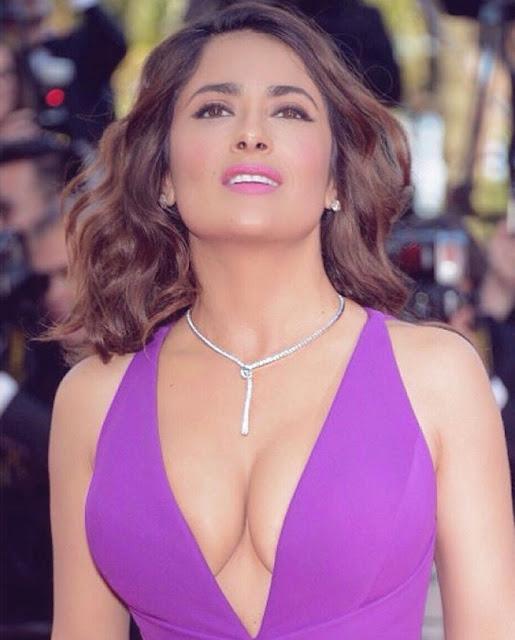 Hollywood Actress Salma Hayek Photos