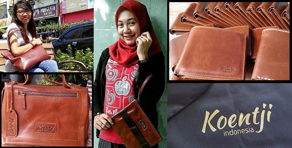 Tas Kulit Brand Koentji Indonesia Berawal dari Jalan-jalan Iseng ... aa667176f1