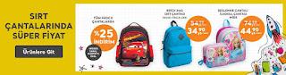 migros market okullar açılıyor sırt çantaları indirimleri