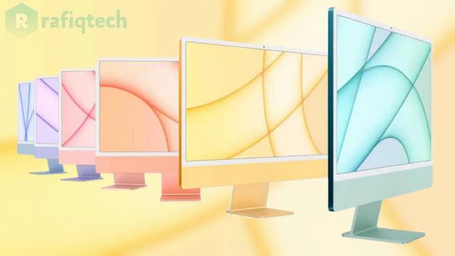 تحميل خلفيات ابل اي ماك iMac 2021 الأصلية بجودة عالية للدقة (8k)
