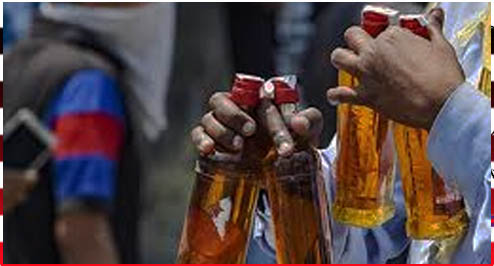 सनौद से गुरूर मार्ग के दुकानदार कर रहे हैं शराब की अवैध बिक्री-तस्करी।