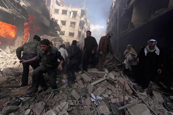 Bukan Perang Saudara, Ini Hal Yang Sebenarnya Terjadi Di Suriah