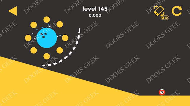 Ball & Ball Level 145 Solution, Walkthrough, Cheats for android and ios