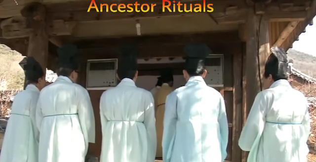 Korean new year ancestor rituals