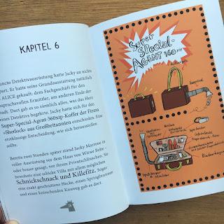 """""""Jacky Marrone jagt die Goldpfote"""" von Franziska Biermann, Verlag dtv junior"""