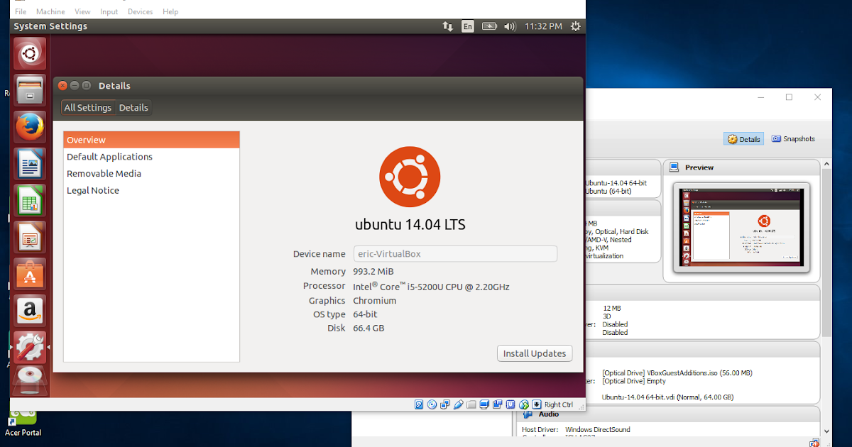 Android-er: Install Ubuntu Linux on Windows 10/VirtualBox