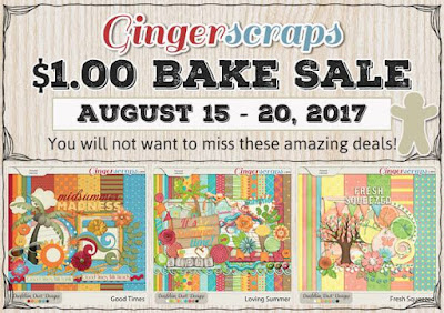 $1 Bake Sale at Gingerscraps