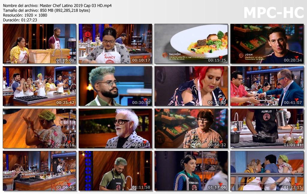 Master Chef Latino 2019 Cap 03