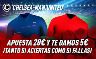 sportium Promo Chelsea vs United 20 octubre