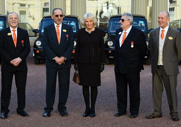 Buckingham Palace for the London Taxi Drivers' Charity for Children