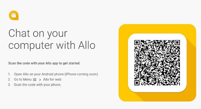 How to set up Google Allo Web Version on Your Windows PC