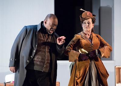 Mozart: The Marriage of Figaro - Keel Watson, Janis Kelly - English National Opera (photo Alastair Muir)