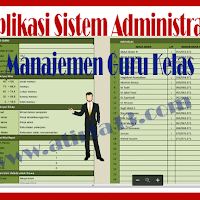Aplikasi Sistem Administrasi Manajemen Guru Kelas