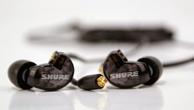 6. Shure SE215 Sound Isolating Earphones