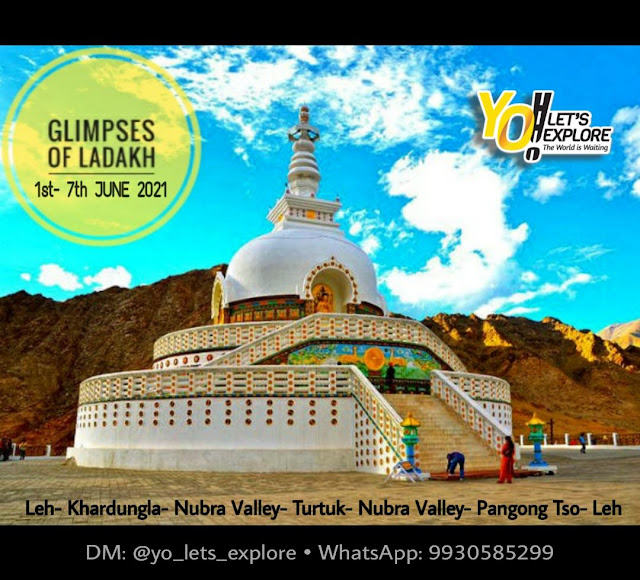 Glipmpse of Ladakh | 1st - 7th June 2021 |  YO! Let's Explore | Registration On