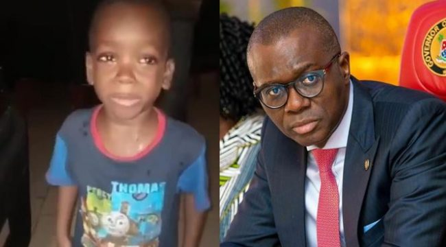 "Lagos State Governor, Jide Sanwo-Olu wants to meet little boy who asked his mom to ""Calm Down"" in viral video"