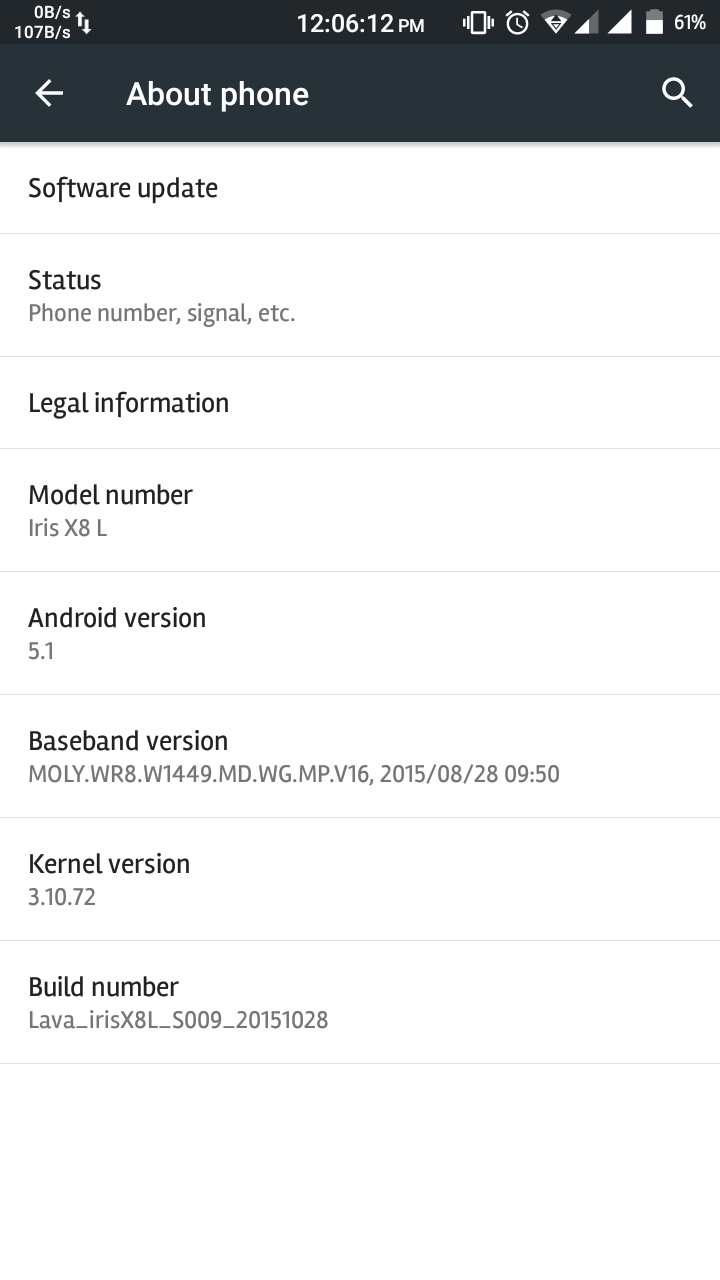 Screenshot_2017-03-20-12-06-14 Offical Stock Lollipop (Changed Model) For Lava Iris X8 L [MT6592] Root