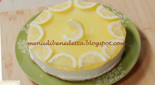 Crostata al limone di benedetta