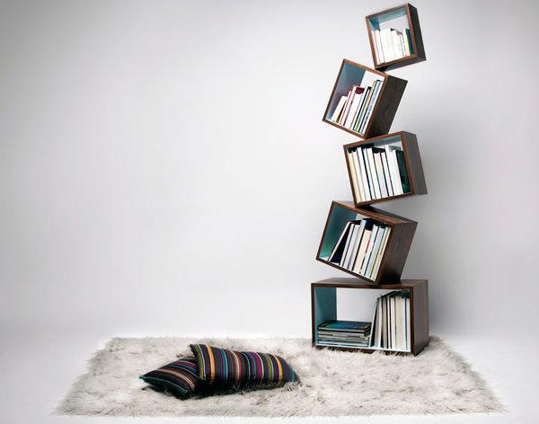 Rak buku keseimbangan
