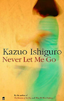 Never Let Me Go by Kazuo Ishiguro book cover