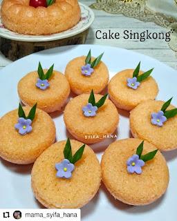 Resep cake singkong