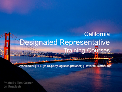 California Designated Representative Online Training Courses. For: 3PL, wholesalers, reverse distributors. Designated Representative Training | Exemptee Training. California Designated Representative online training courses. Florida CDR training and examination preparation. California HMDR Exemptee online training certification.