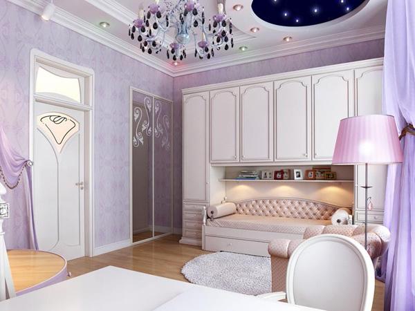 Dormitorio para chica estilo rom ntico dormitorios con - Dormitorios estilo romantico ...