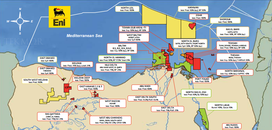 TEKMOR Monitor: Cabinet denies giving up stake in Zohr gas field ...