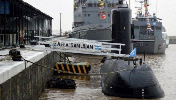 Investigan posibles puntos para hallar al submarino argentino