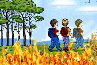 لغز الحريق