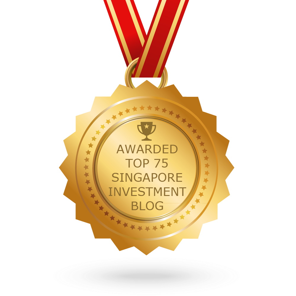 Received Top 75 Singapore Investment Blogs Award in July 2017