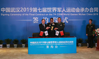 China: World Military Sports Festival in Wu Han, October 18