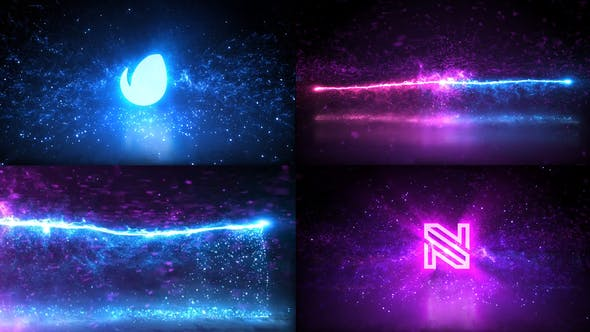 Videohive - Magic Particles Logo - 28792056
