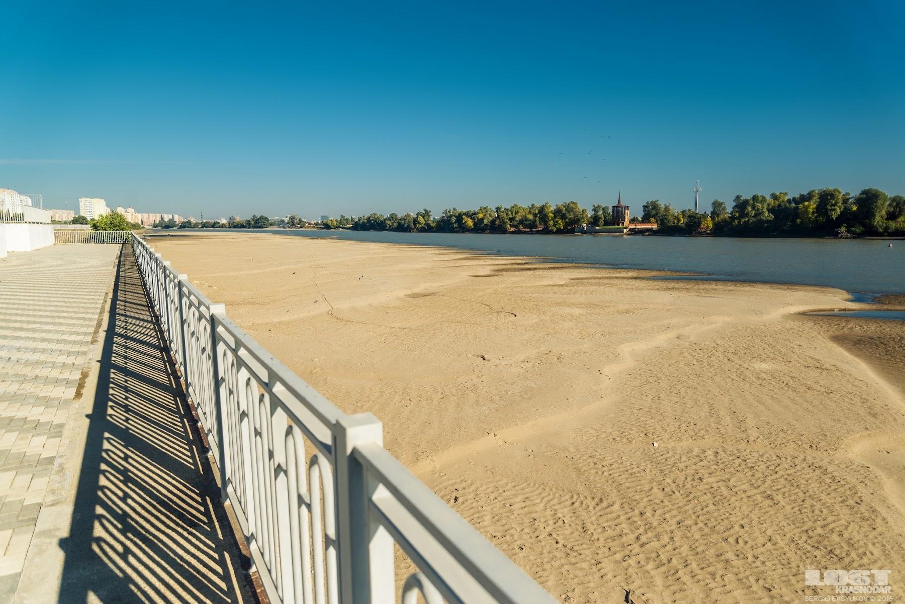 Пляжи Краснодара