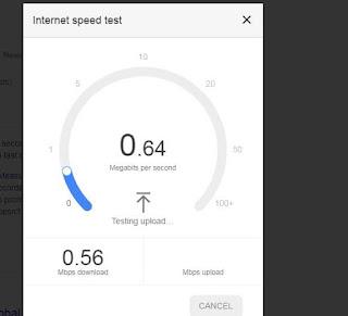 testing-internet-speed-on-google-speed-tester