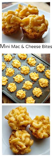 Míní Macaroní and Cheese Bítes