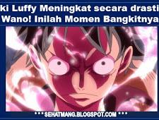 Haki Luffy Meningkat secara drastis di Wano! Inilah Momen Bangkitnya!