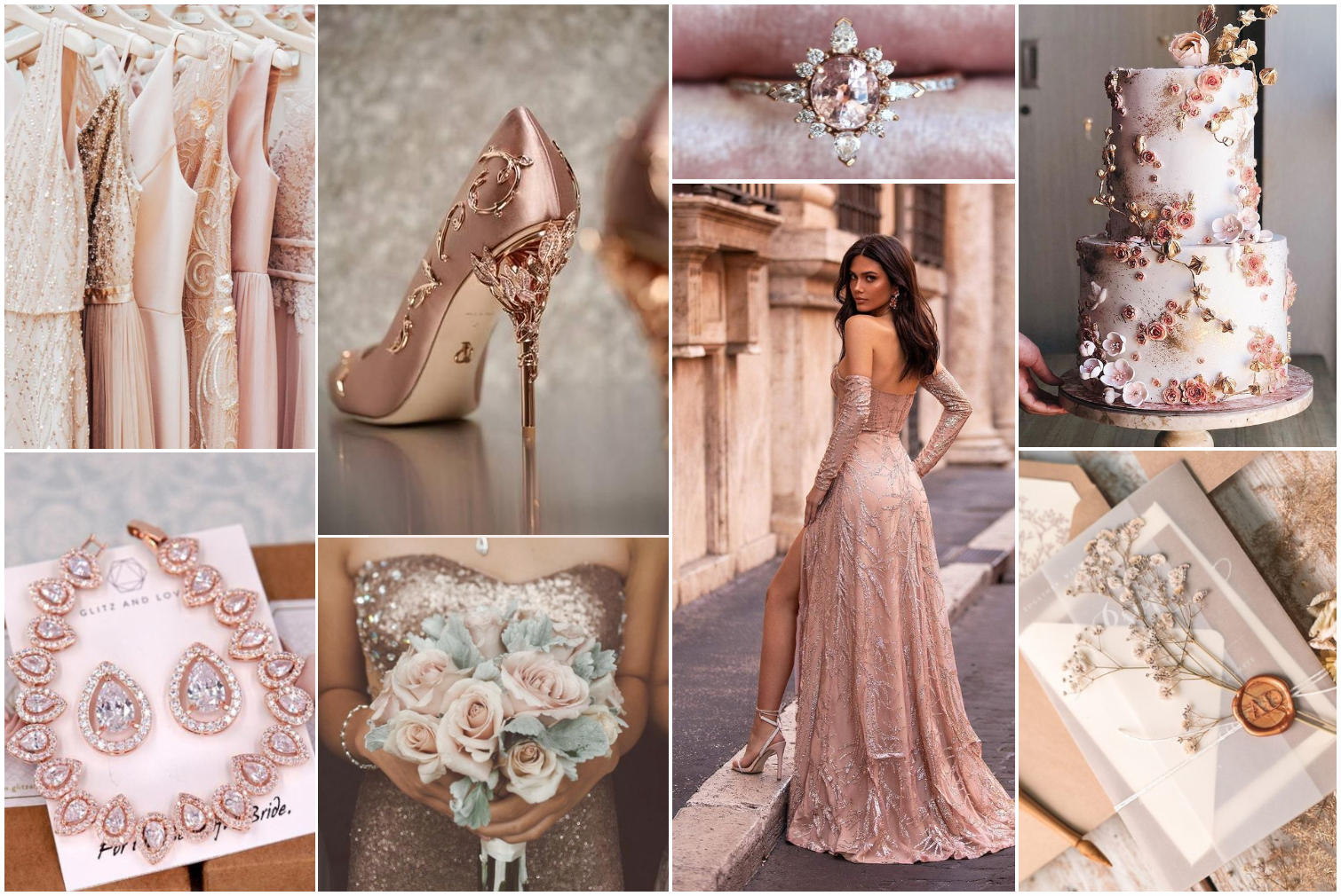 Rose Gold Wedding Theme For The Most Romantic Fall Ceremony | January Girl