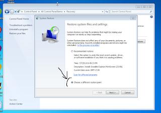 komputer tidak bisa masuk windows restar terus