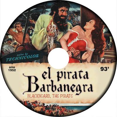 El pirata Barbanegra - [1952]
