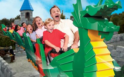 Legoland Florida Orlando - Montanha Russa