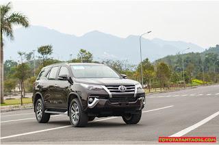 So sánh Toyota Fortuner với Hyundai Santafe ở bản máy dầu, 2 cầu, số tự động ảnh 5