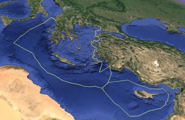 Ήρθε η μεγάλη ώρα των οριοθετήσεων των ΑΟΖ της Ελλάδας, της Κύπρου και της Αιγύπτου
