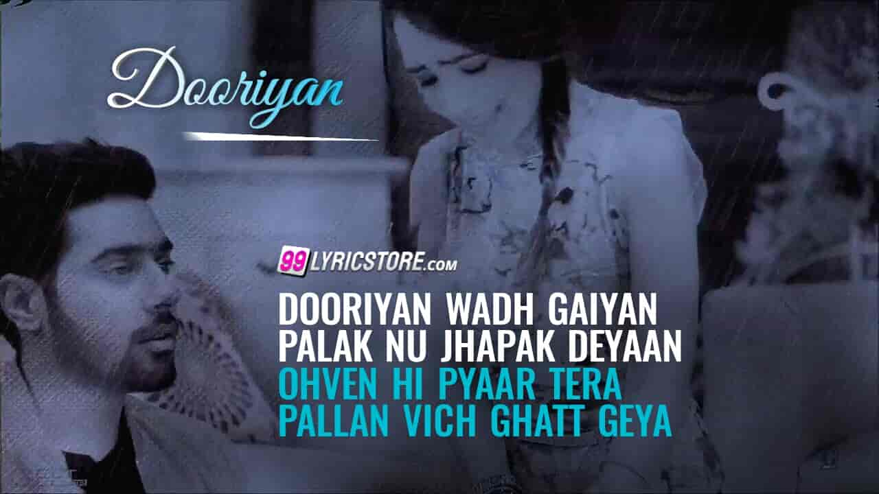 Dooriyan sad punjabi song lyrics sung by guri and tanya
