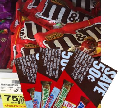 m&m's clearance deal at cvs
