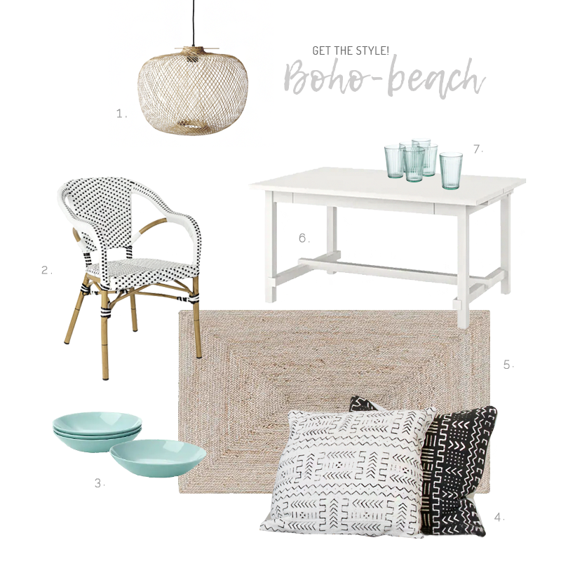 Boho Beach Style Decor - Decoración boho de estilo playero